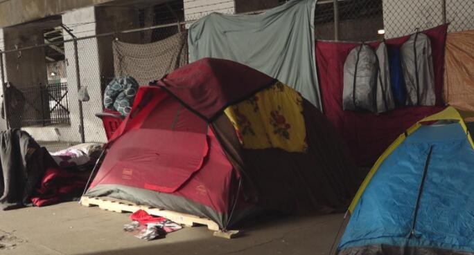 为无家可归者收容所和营地提供精神保健的新资金