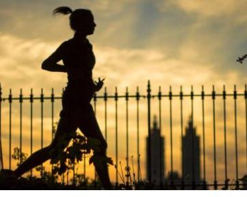 跑步是一项很好的健身运动