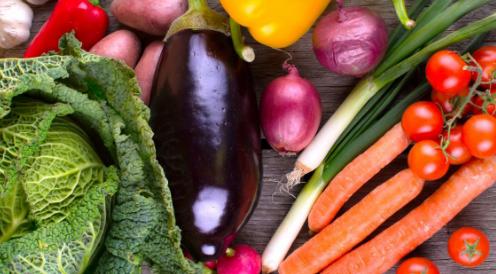 在支持健康的食品方面蔬菜是无与伦比的