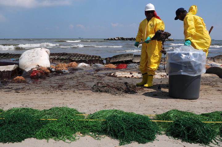 暴露于深水地平线的漏油事件使儿童遭受身体与心理健康的影响