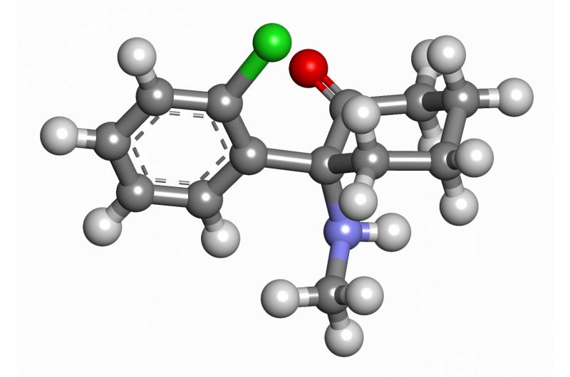 研究人员发现指向氯胺酮的长期抗抑郁作用