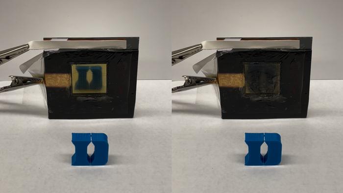 智能材料在几分钟内在加热和冷却之间切换