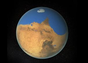 火星上的山谷和河道揭示了古代火星地下水的证据