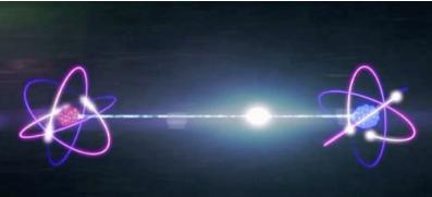 亚原子粒子的微小尺寸与其通过固体物体的能力无关